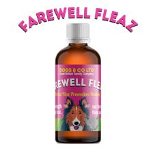 Farewell Fleaz 100ml: Natural Flea Treatment for Dogs
